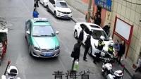 交警执勤受阻被打 3名涉事人被行拘