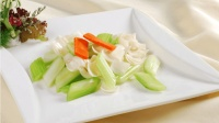 家常菜——西芹百合的做法