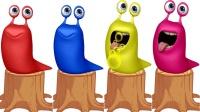 色彩蜜蜂与鼻涕虫色彩英语儿童英语ABC少儿英语ABC