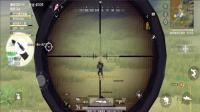 皮卡解说荒野行动《灾星AWM狙击枪》搞笑手游: 让我的AWM狙击敌人啊!
