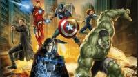 娱乐百家看电影: 《复仇者联盟2》复联众人举重比赛 爆笑拔雷神之锤