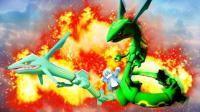 我的世界《神奇宝贝世代冒险》04 获得超进化手镯打裂空座蜻蜓点水BOSS黄MEGA 爆笑精灵宝可梦