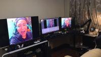老戴的工作室与数码游戏设备展示