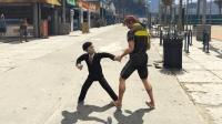 [HoHo GTA5 MOD]小特工搞笑未播花絮