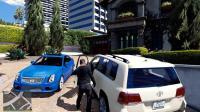 GTA5 土豪小富用丰田SUV换走老麦的凯迪拉克