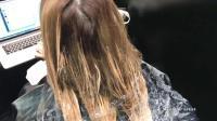 乱糟糟的头发, 染个颜色马上变的不一样