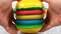 宝宝巴士魔力太空沙—自己做的汉堡竟然可以这么有食欲