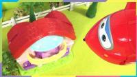 超级飞侠乐迪和突突兔帮霸王龙找恐龙宝宝
