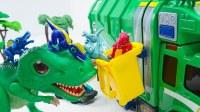 玩具动画 魔幻恐龙车神玩具 新款玩具迪斯尼汽车巨型座桥建设赛车玩【俊和他的玩具们