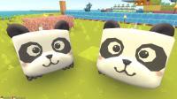 【肉肉】迷你世界游戏#90无敌大熊猫!