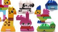 积木玩具拼搭海底生物