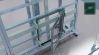 生产窗户的自动化流水线设计布局