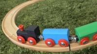 托马斯木质六隧道玩具