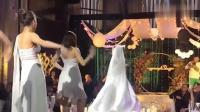 太魔性了, 新娘也来赶新潮, 海草舞简直是要中毒了啊!