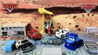 【独家】汽车总动员法兰斯高在建筑工地被吊车吊起突太郎闪电麦昆营救赛车总动员风火轮