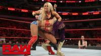 【RAW 03/19】莎夏贝莉相通过组队化解姐妹结缔 效果不佳 略显尴尬