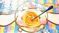 自制水蜜桃泥史莱姆, 少女心满满的蜜桃色配色教程