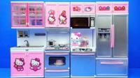 凯蒂猫Hello Kitty的厨房, 小猪佩奇过家家玩具