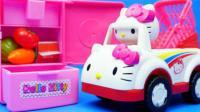 凯蒂猫Hello Kitty厨房过家家玩具, 小猪佩奇故事