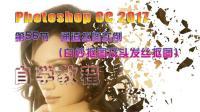 56 Photoshop CC 2017 通道抠图实例(白纱抠图及头发丝抠图) 自学教程