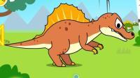 恐龙世界乐园动画片 游戏大表哥解说各种恐龙探险队Q3