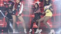 新4人嘻哈女团AZM出道舞台性感丝袜秀腿