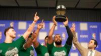 【布鲁】NBA2K18生涯模式:奥尼尔11个盖帽拿三双!凯尔特人夺得东部冠军(67)