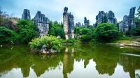 云南旅游之十一《云南石林之小石林、演出》-若水拍摄