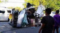 8名中国游客在泰国遇交通事故