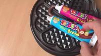 巧克力牙膏放电铛机里会怎样?
