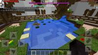 我的世界手游服务器小游戏#66: 农场和湖泊★速建大师★哲爷和成哥