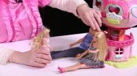 樱桃玩具秀玩具故事: 芭比娃娃与肯去领养了一个孩子  你们猜会发生什么事情呢?