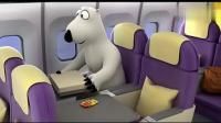 倒霉熊: 熊在飞机上偷吃太多吐了, 进闸门被敲晕