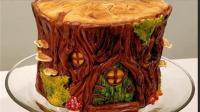 谁还不会做翻糖蛋糕咋地? 树桩翻糖蛋糕教程一看就会