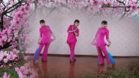 叶久久广场舞《浪漫三月桃花红》2018年最新广场舞简单好学附教学
