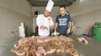 吃货老外带你看看, 正宗的均安蒸肉怎么做, 舌尖上的中国还报道过