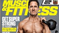 明星私人教练Don Saladino拍摄肌肉与健康杂志幕后