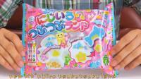 【喵博搬运】【日本食玩-可食】彩虹调色盘啫喱软糖(´・ω・`)