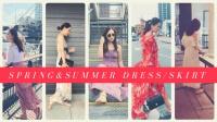 春夏裙裝購物穿搭分享 | HiBarbie