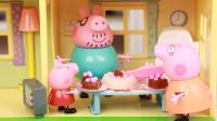 日本食玩草莓糖果蛋糕 手工打造小猪佩奇精致生日蛋糕