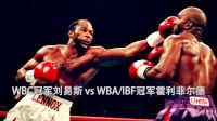 世界重量级拳王统一战-刘易斯12回合点胜霍利菲尔德荣获三冠王