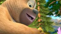 《熊出没》柠檬问起来好香, 熊二忍不住想吃, 结果却被熊大制止