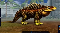 侏罗纪世界游戏第440期满星迅猛鳄龙 水生恐龙大对决 笑笑小悠恐龙公园玩具