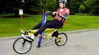 没脚蹬的自行车, 骑起来像划船一样