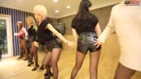 韩国女团AOA性感舞蹈《短裙》 练习室版