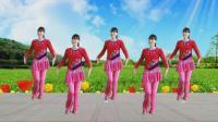 阳光溪柳广场舞《好运送给你》十六步, 简单易学