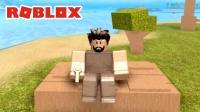Roblox71 风暴生存, 这是可爱版方舟? 小宝趣玩虚拟世界