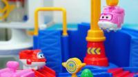 超级飞侠趣味玩具 小爱国际机场闯关大冒险