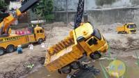 工程车救援行动 儿童玩具视频