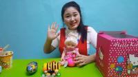 日本食玩芭比娃娃拆封超人奇趣蛋玩具宝箱